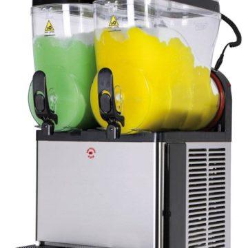 Slush ice maskine (2 kamre)